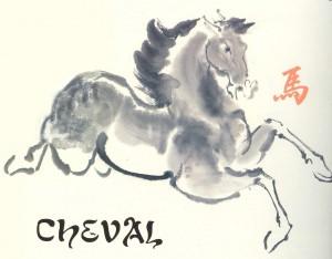 Le signe astrologique Cheval