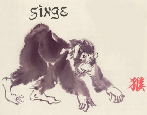 Le signe astrologique Singe