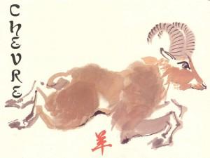 Le signe astrologique Chèvre