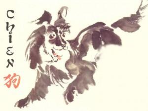 Le signe astrologique Chien